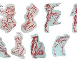 Bài tập Gesture Drawing Huỳnh Ngọc Minh Phương 13