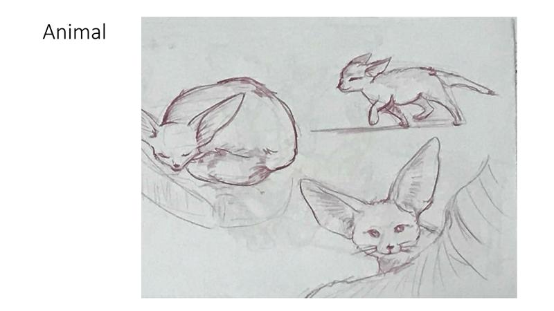 Bài tập Gesture Drawing Huỳnh Ngọc Minh Phương 3