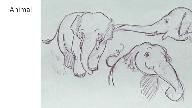 Bài tập Gesture Drawing Huỳnh Ngọc Minh Phương 5