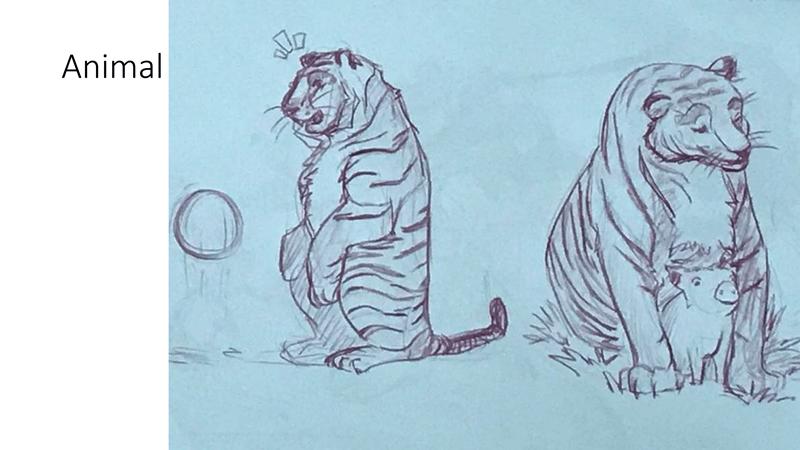 Bài tập Gesture Drawing Huỳnh Ngọc Minh Phương 7