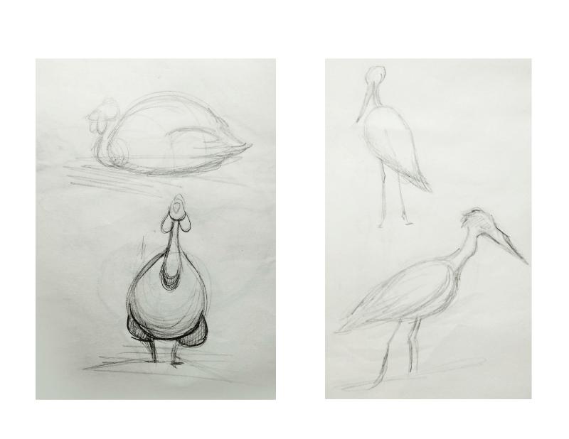 Bài tập Gesture Drawing Nguyễn Khương Thảo 25