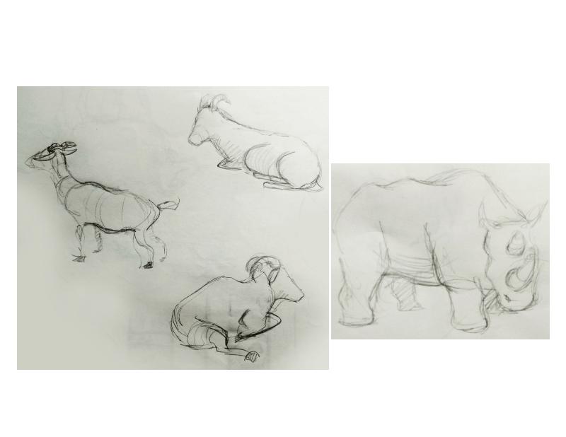 Bài tập Gesture Drawing Nguyễn Khương Thảo 27