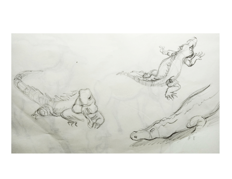 Bài tập Gesture Drawing Nguyễn Khương Thảo 28