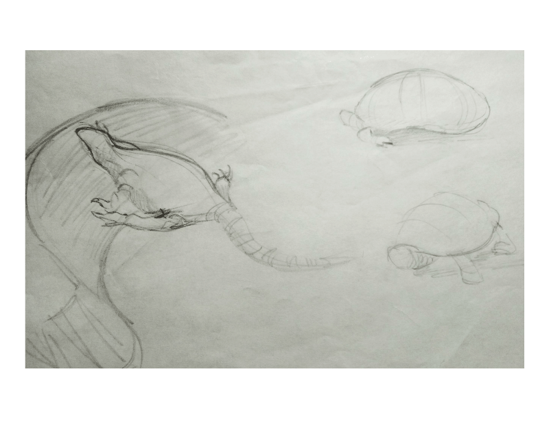Bài tập Gesture Drawing Nguyễn Khương Thảo 30