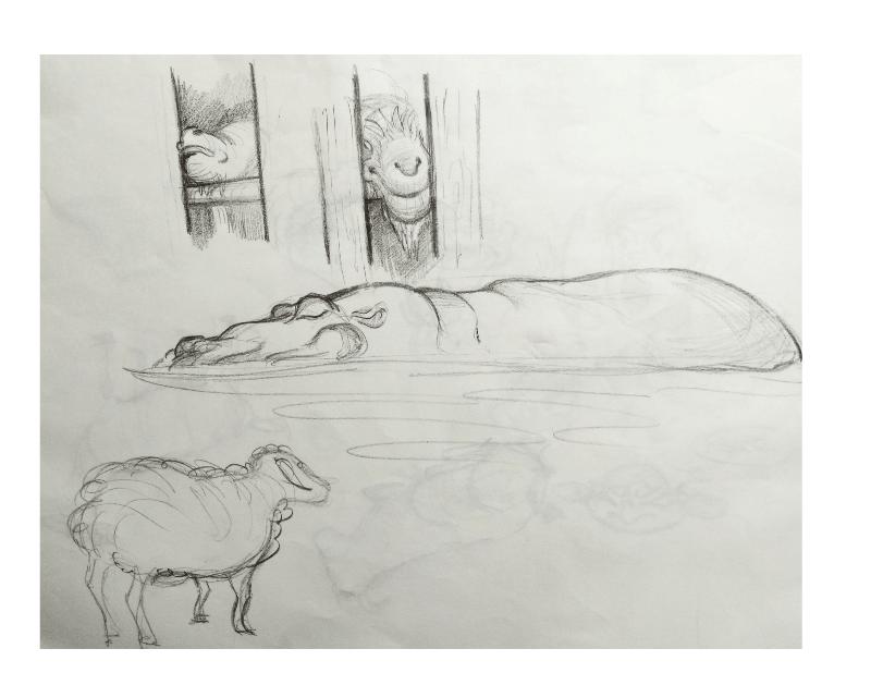 Bài tập Gesture Drawing Nguyễn Khương Thảo 32
