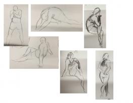 Bài tập Gesture Drawing Nguyễn Lê Bích Trâm 10
