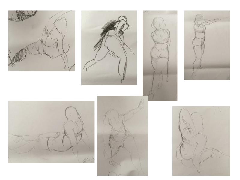 Bài tập Gesture Drawing Nguyễn Lê Bích Trâm 13