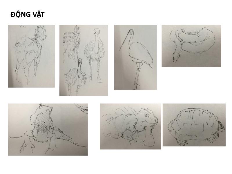 Bài tập Gesture Drawing Nguyễn Lê Bích Trâm 14