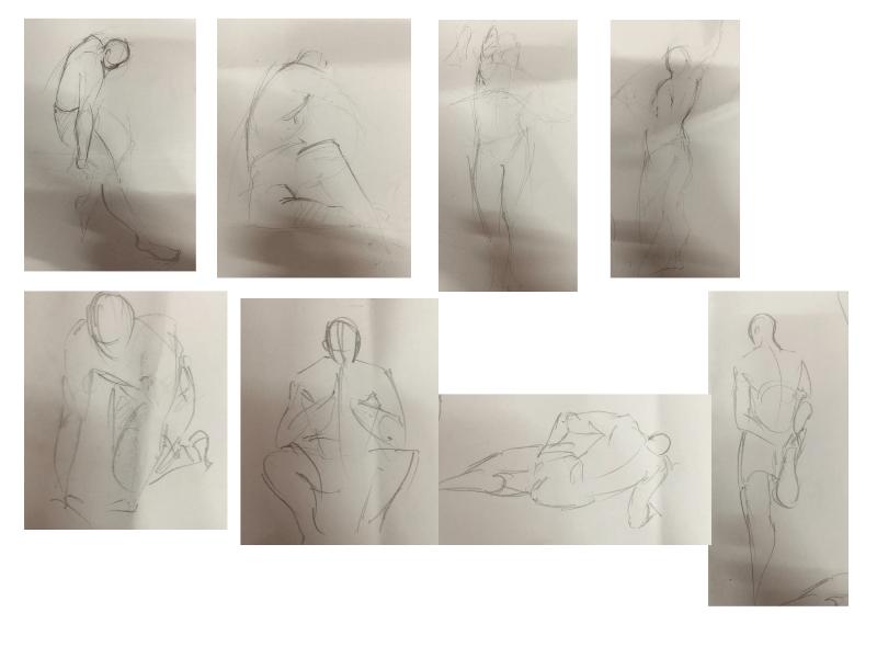 Bài tập Gesture Drawing Nguyễn Lê Bích Trâm 3