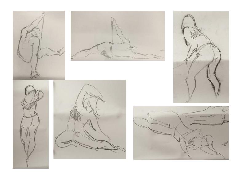 Bài tập Gesture Drawing Nguyễn Lê Bích Trâm 7