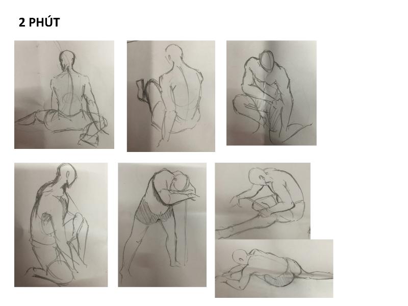 Bài tập Gesture Drawing Nguyễn Lê Bích Trâm 8