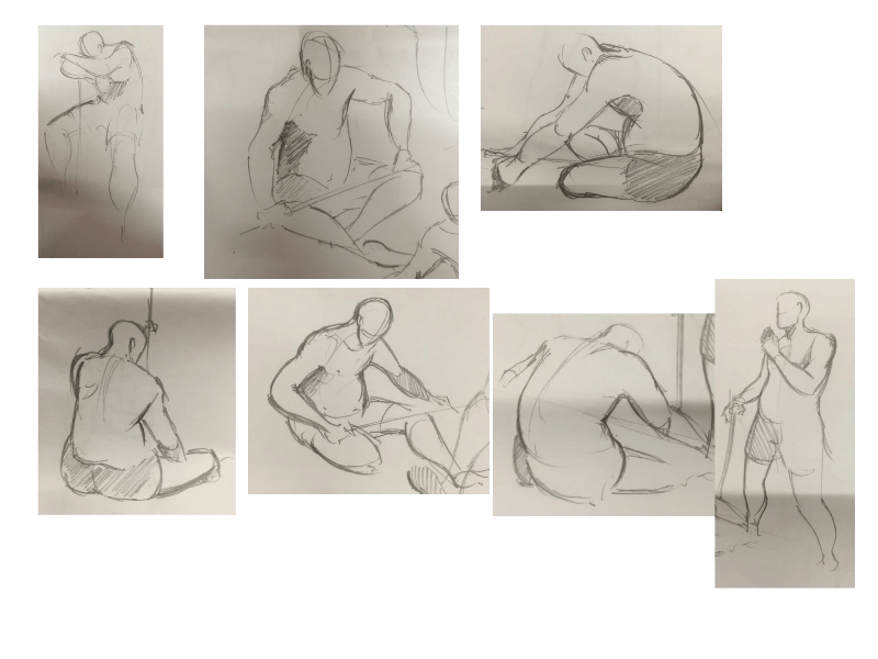 Bài tập Gesture Drawing Nguyễn Lê Bích Trâm 9