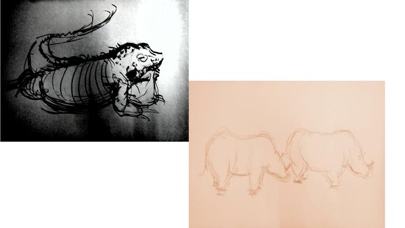 Bài tập Gesture Drawing Nguyễn Thanh Triều 11