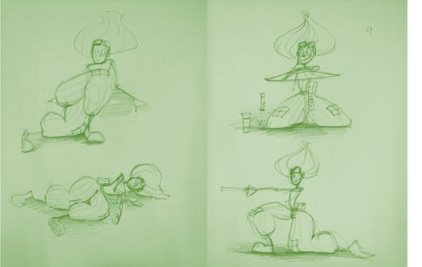 Bài thi Gesture (Figure) Drawing – Nguyễn Thanh Triều