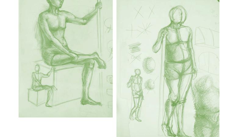 Bài tập Gesture Drawing Nguyễn Thanh Triều 14