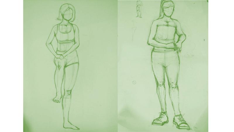 Bài tập Gesture Drawing Nguyễn Thanh Triều 15