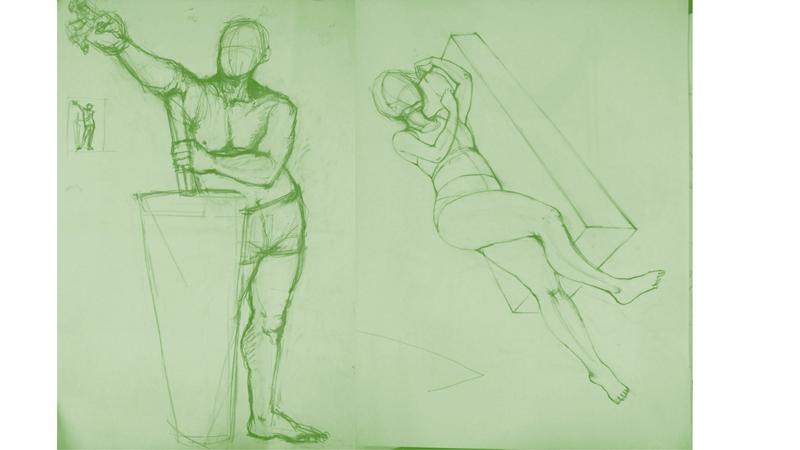 Bài tập Gesture Drawing Nguyễn Thanh Triều 16