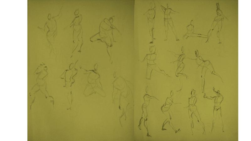 Bài tập Gesture Drawing Nguyễn Thanh Triều 19