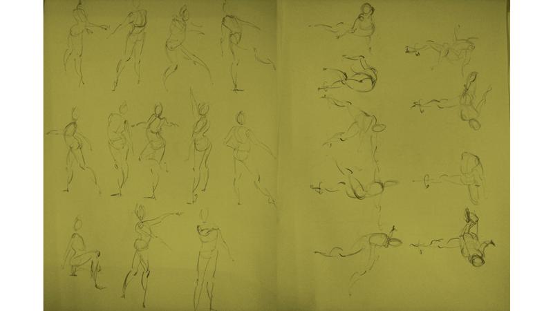 Bài tập Gesture Drawing Nguyễn Thanh Triều 21