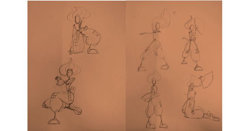 Bài tập Gesture Drawing Nguyễn Thanh Triều 3