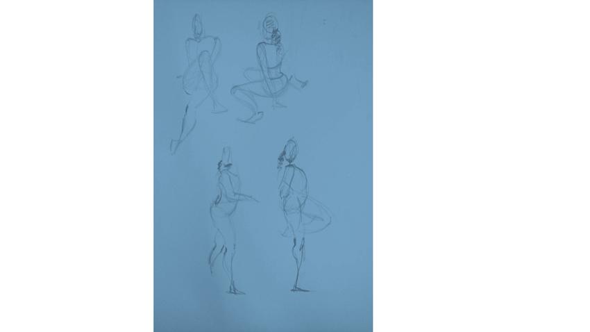 Bài tập Gesture Drawing Nguyễn Thanh Triều 9