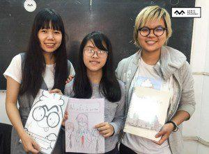 Bế giảng lớp vẽ truyện tranh Manga Comics nâng cao 6 161