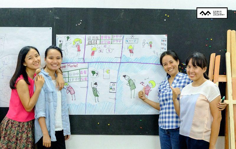 Chương trình tập huấn Sketchnote – Sketchtalk do CMA tổ chức