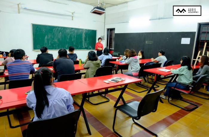 [Hình ảnh] Khai giảng Lớp học viết kịch bản khoá 04
