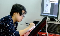 Khai giảng lớp dạy vẽ truyện tranh Manga Comics Digital Khóa 02