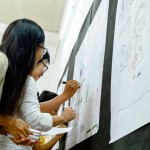 lớp học sketch note sketch talk room to read 14