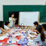 lớp học sketch note sketch talk room to read 2