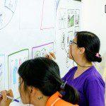 lớp học sketch note sketch talk room to read 26