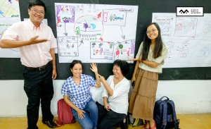 lớp học sketch note sketch talk room to read 34