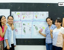 lớp học sketch note sketch talk room to read 39