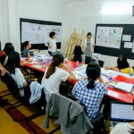 lớp học sketch note sketch talk room to read 67