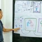 lớp học sketch note sketch talk room to read 68
