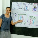 lớp học sketch note sketch talk room to read 70