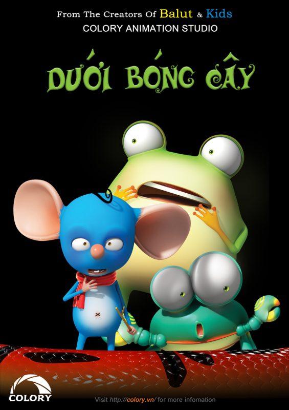 Phim hoạt hình Dưới bóng cây của Colory Animation Studio
