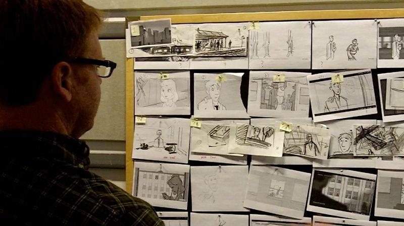 Phim hoạt hình Paperman 3