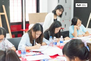 tập huấn sketch note room to read