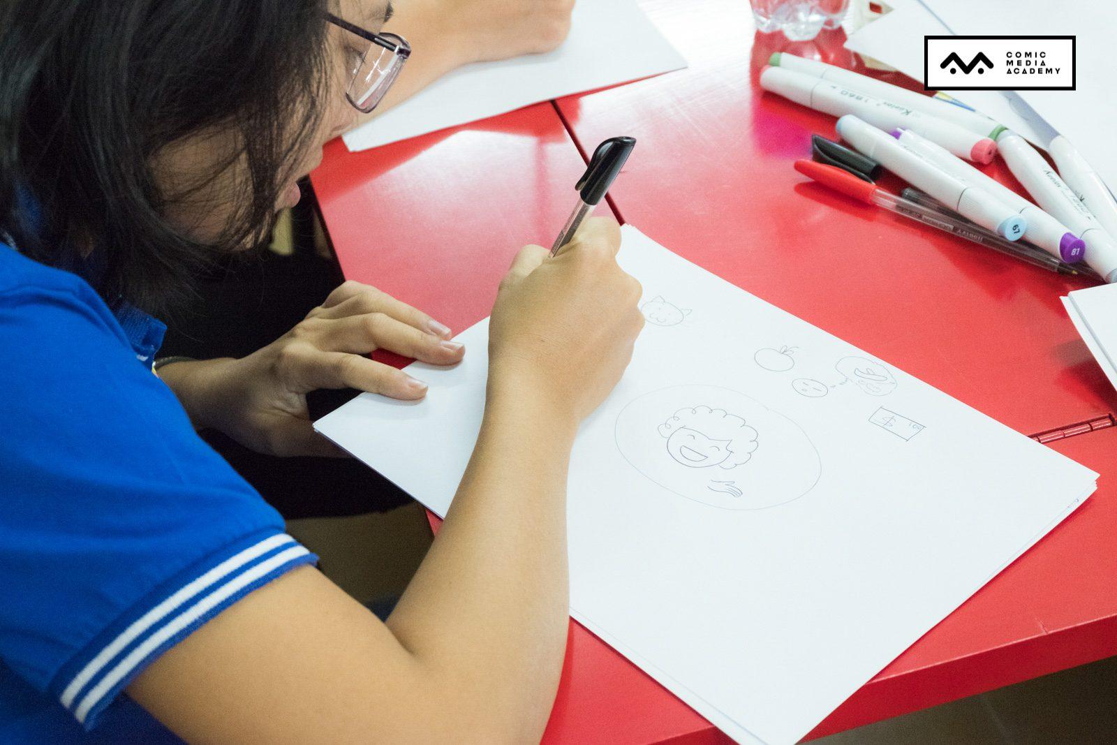 sketchnote cho học sinh