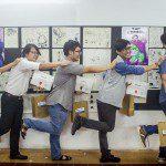 Tổng kết lớp học vẽ truyện tranh cấp tốc khoá 5