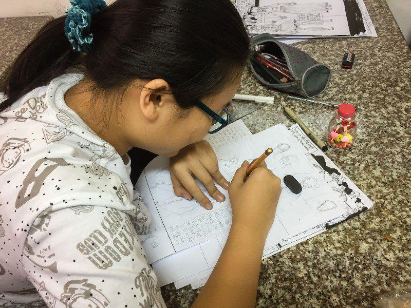 Bế giảng lớp dạy vẽ Manga Comics nâng cao 7 1