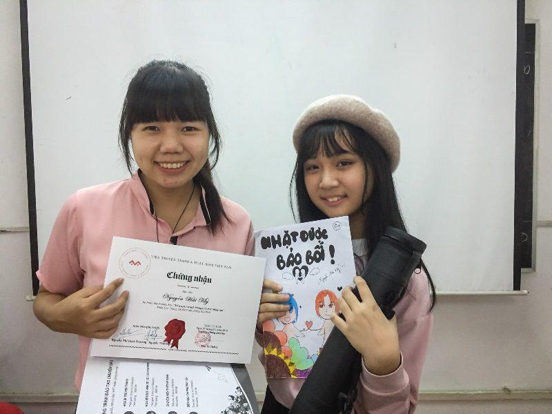 Bế giảng lớp dạy vẽ Manga Comics nâng cao 7 4