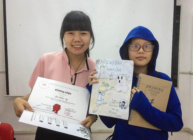 Bế giảng lớp dạy vẽ Manga Comics nâng cao 7 9