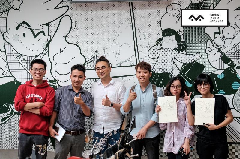 Hoạt động sôi nổi của Viện Truyện tranh và Hoạt hình trong năm 2017 3