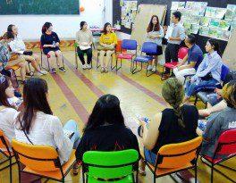Sinh viên Đại học Chosun Hàn Quốc thực tập tại Comic Media Academy