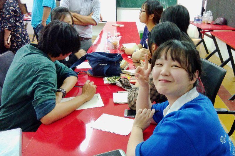 Sinh viên Đại học Chosun thực tập tại CMA 1