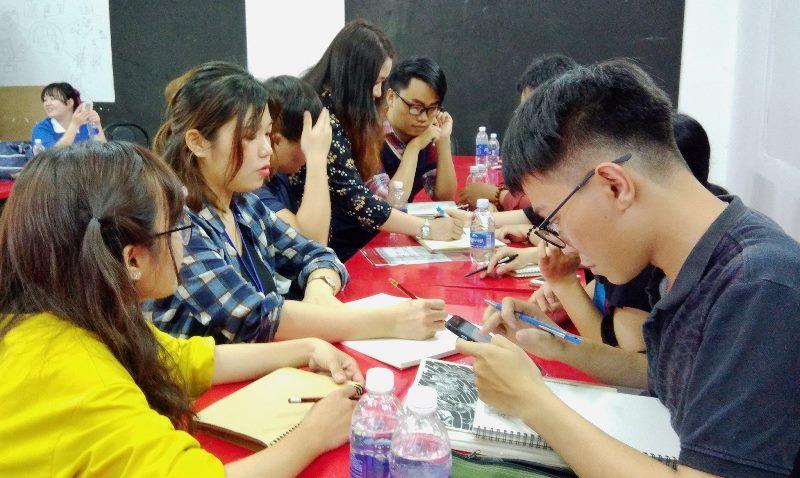 Sinh viên Đại học Chosun thực tập tại CMA 2