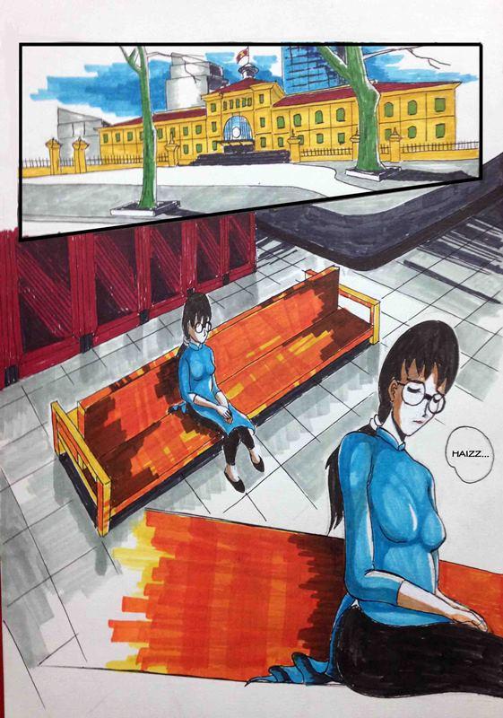 Truyện tranh Linh Hồn Bưu Điện 02